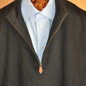 Peter Millar Black Pullover Golf Vest Large EXC